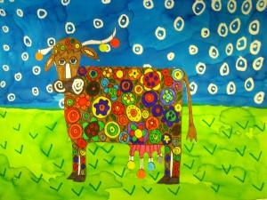 Blooming Cow Ecole Maternelle De La Corveraine